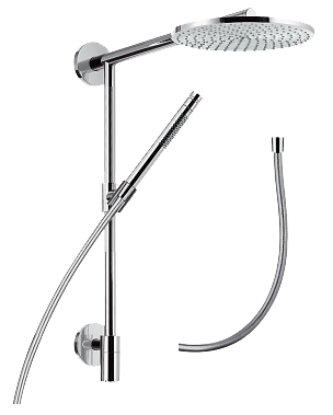 hansgrohe raindance s 240 air showerpipe connect 27421000 bad. Black Bedroom Furniture Sets. Home Design Ideas
