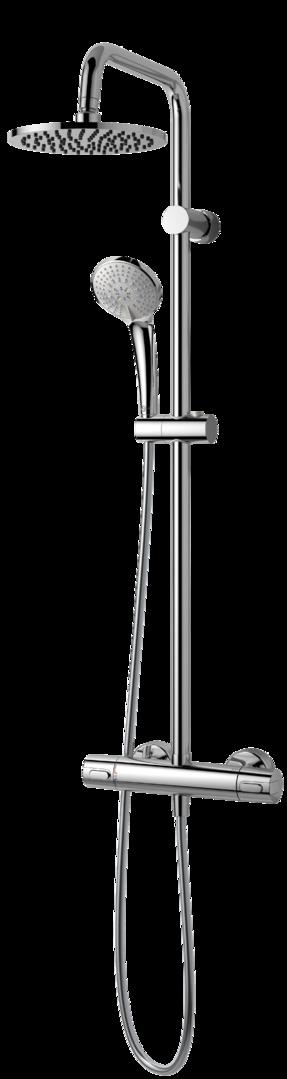 ideal standard idealrain duschsystem a 5686 aa badezimmer. Black Bedroom Furniture Sets. Home Design Ideas