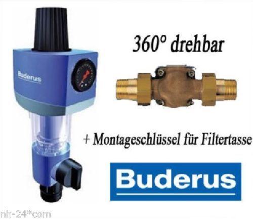 Buderus Honeywell Rückspülfilter Druckminderer 3 4 Bad