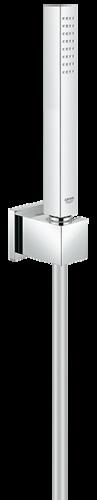 grohe euphoria cube brausegarnitur 27702000 duschgarnitur chrom. Black Bedroom Furniture Sets. Home Design Ideas